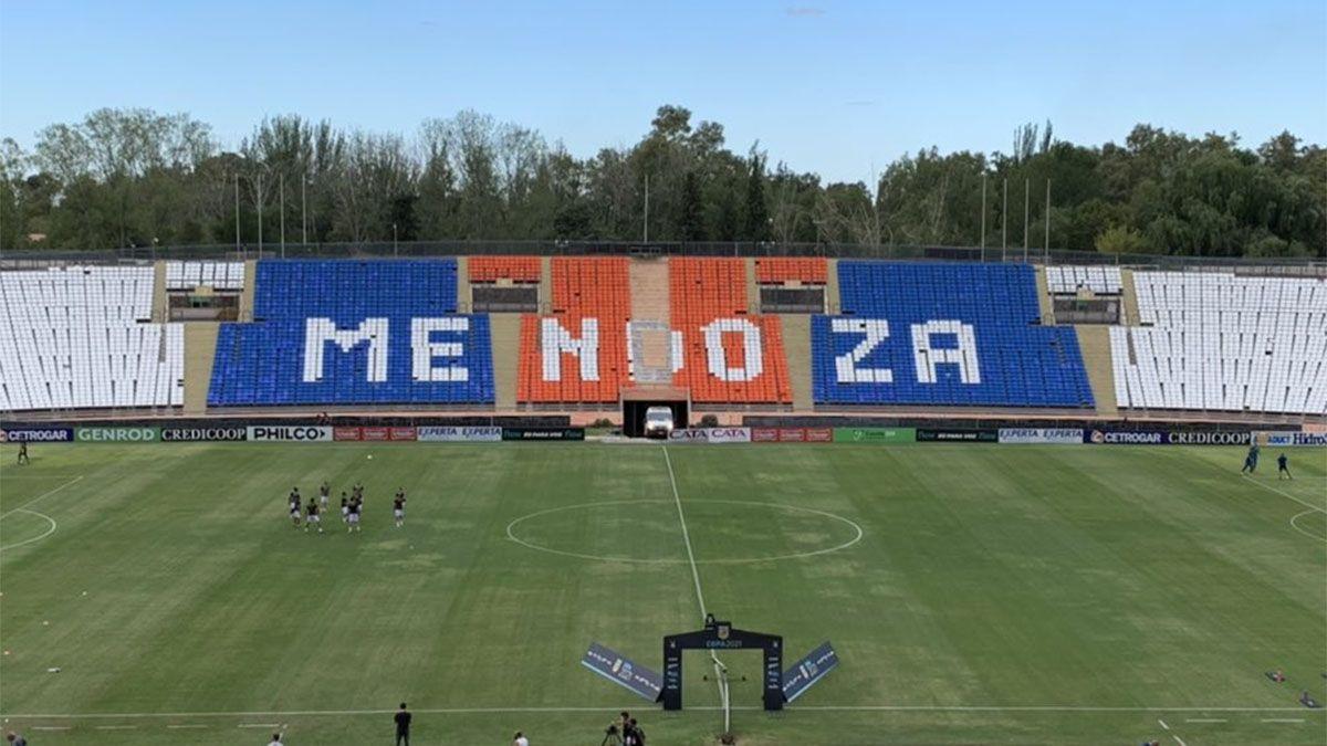 Por la Copa América, el Tomba no podrá usar el Malvinas Argentinas