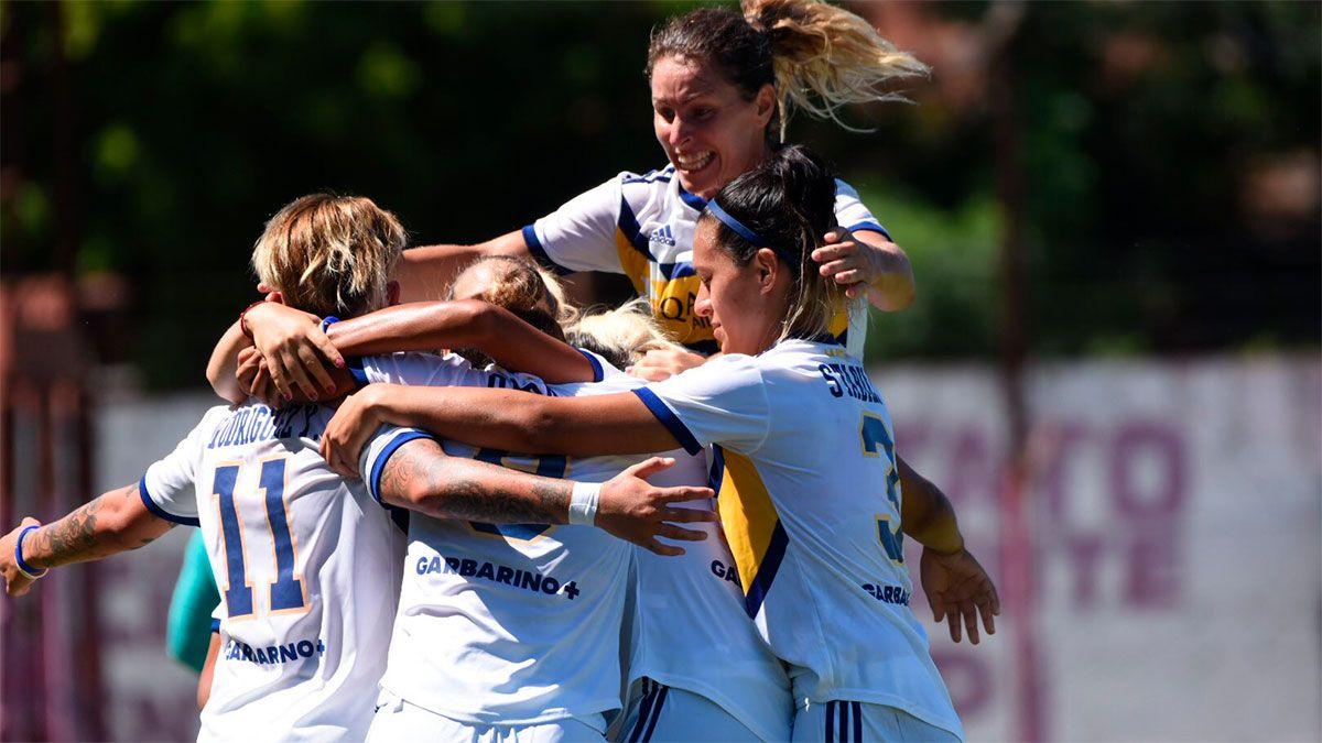 Boca derrotó a San Lorenzo y habrá superclásico en la final del torneo femenino.
