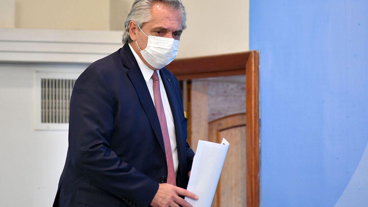 Alberto Fernández celebró el cumplimento de las nuevas restricciones.