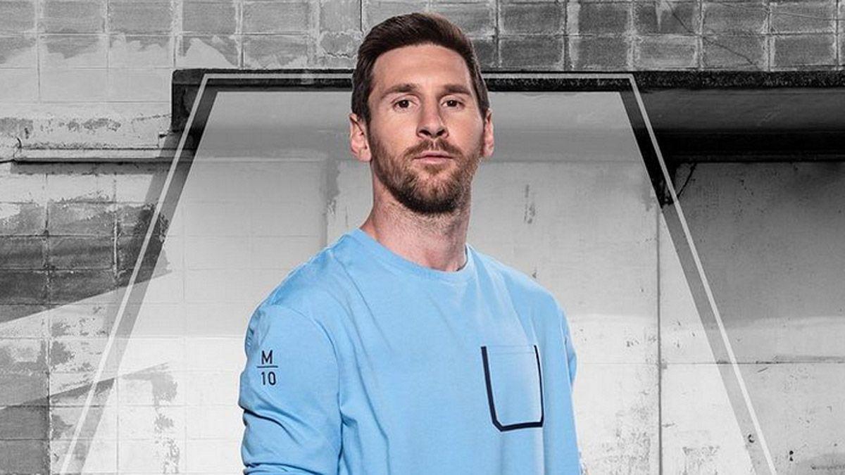 Messi rompió el molde con una fotaza en las redes sociales