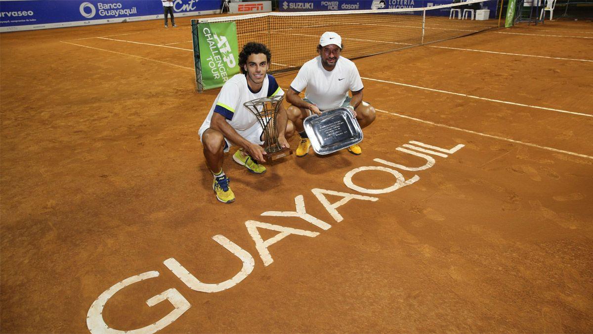 Cerúndolo se consagró campeón del Challenger de Guayaquil