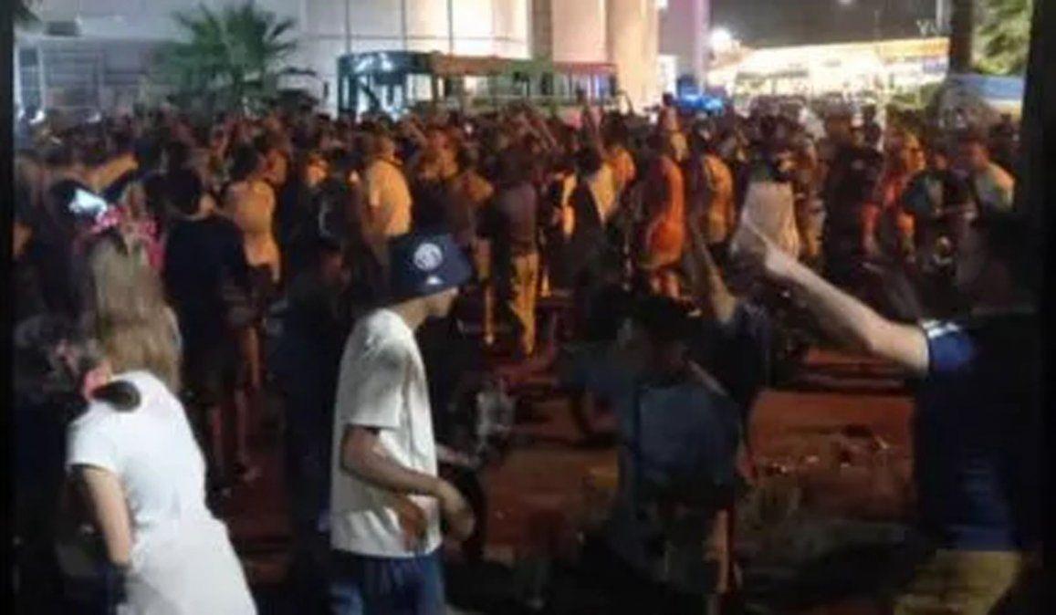 Una de las fiestas clandestinas que detectaron los dueños de boliches en los últimos días. Ellos piden habilitar eventos controlados con protocolos sanitarios.