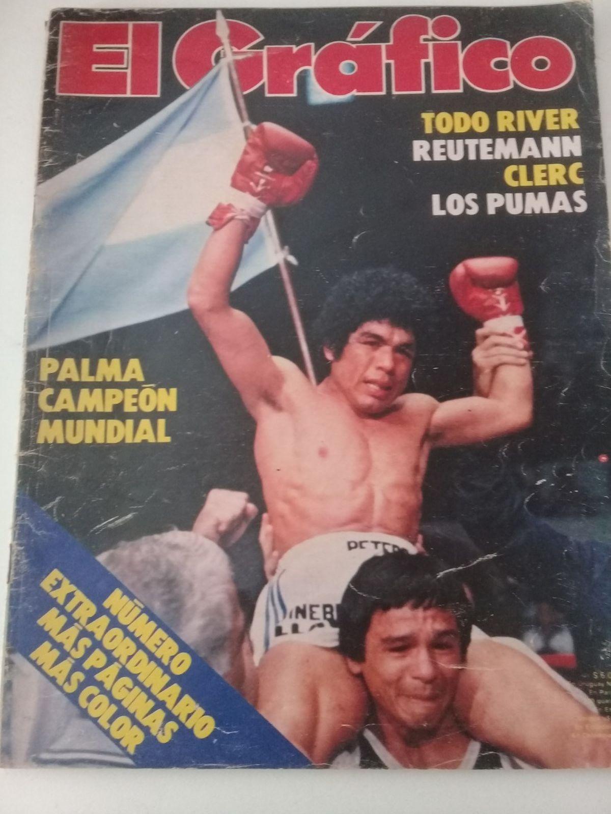 Sergio Víctor Palma alcanzó la gloria en 1980.