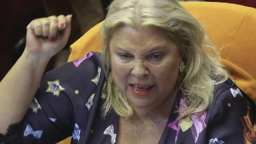 Reapareció Carrió y felicitó a la Coalición Cívica por no reunirse con el Ejecutivo