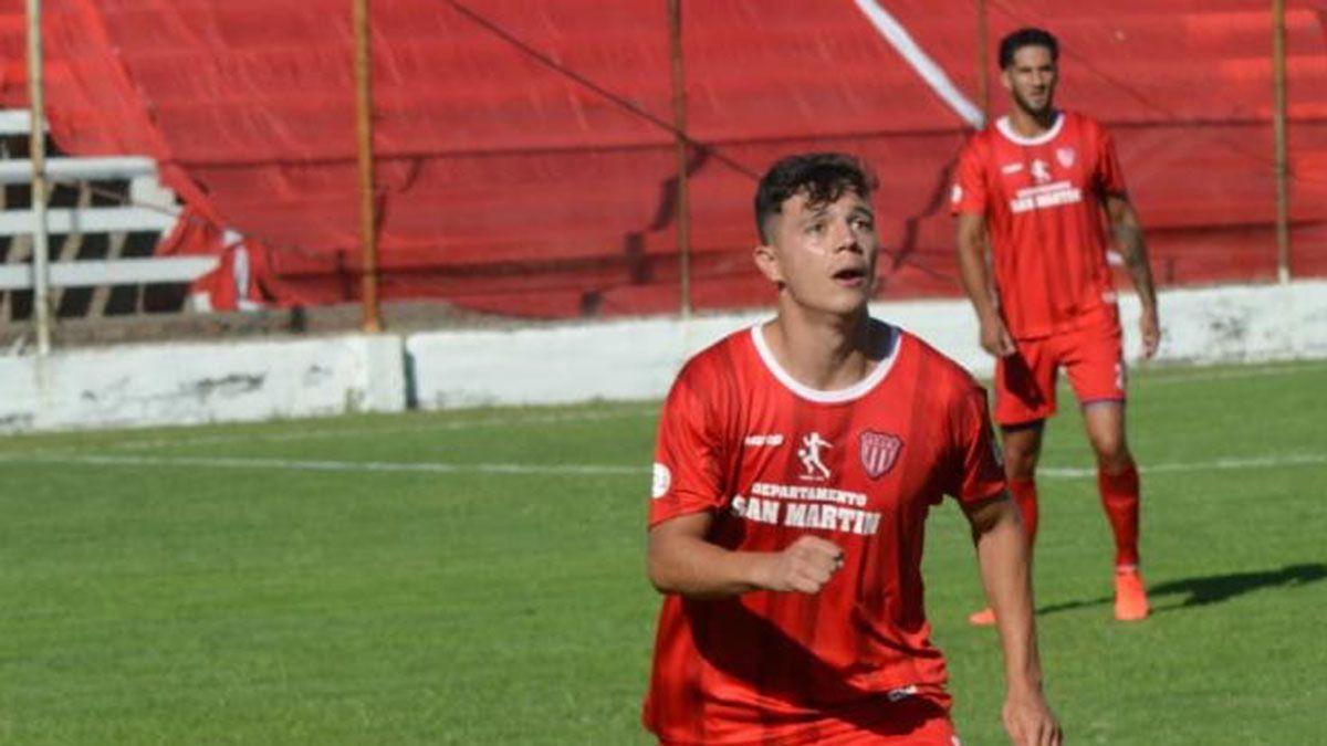 El volante Jesús Sandoval. Fotos: gentileza Prensa Atlético San Martín.