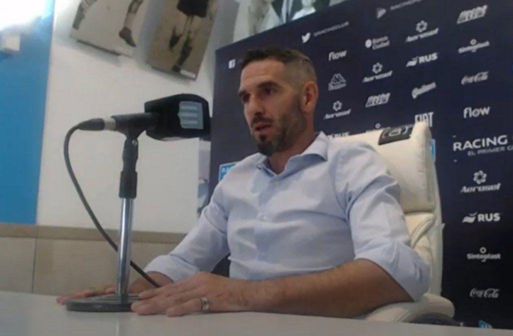 Lisandro López se despidió de Racing y se iría a Estados Unidos.