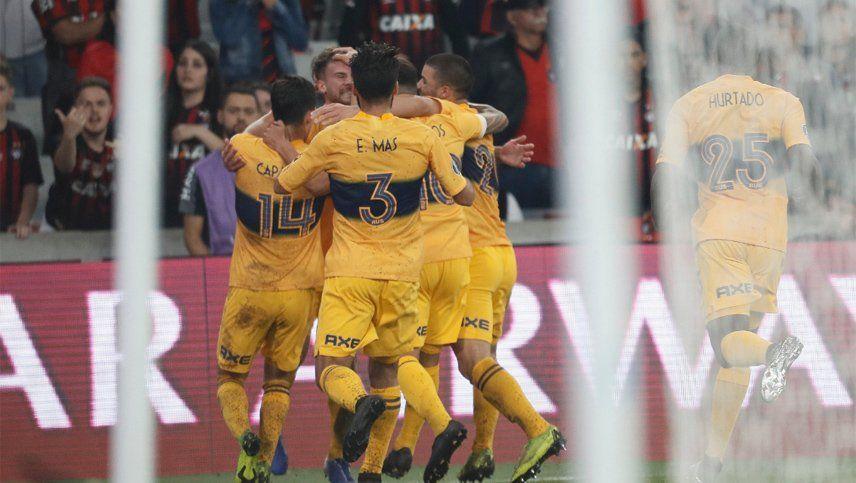 Boca, con la ventaja de la ida, buscará ante Athletico Paranaense llegar a cuartos