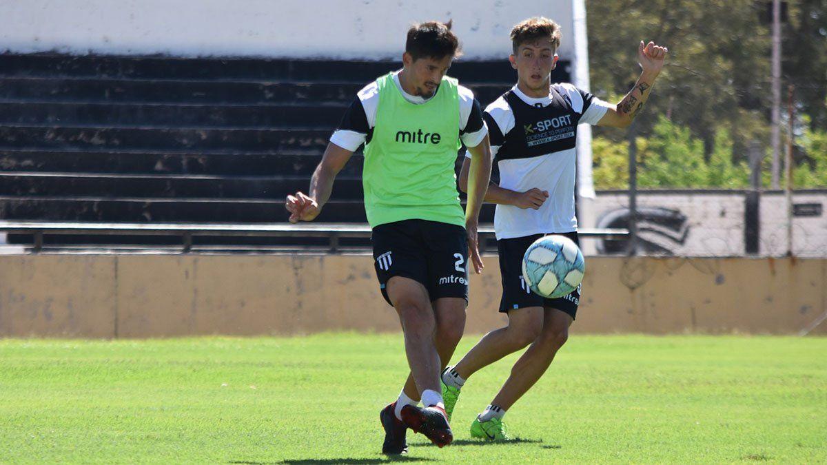 El defensor Diego Mondino es uno de los más experimentados del plantel. (Foto: gentileza Prensa Gimnasia y Esgrima).