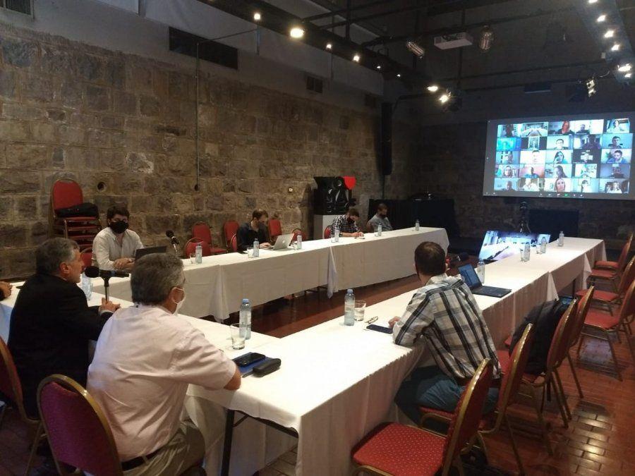 Unos 50 referentes vitivinícolas de 5 provincias y sus legisladores nacionales
