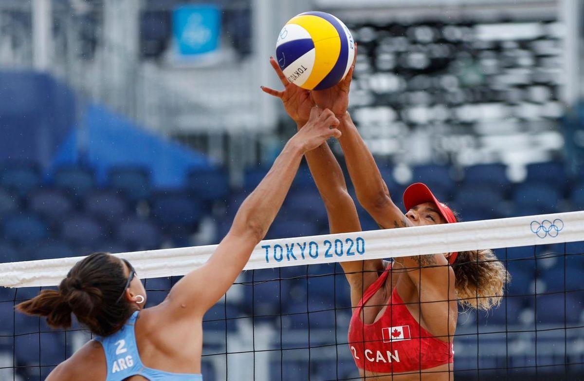 Las chicas del beach voley sufrieron su segunda derrota en los Juegos Olímpicos 2021.