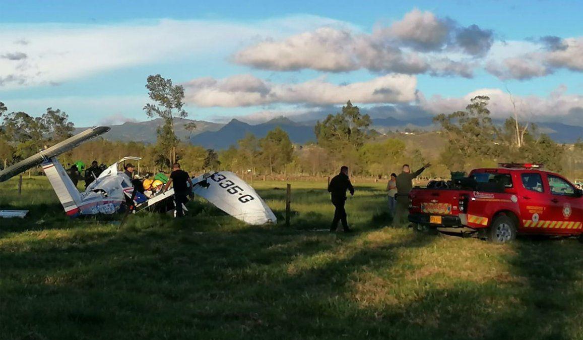 Un bebé fue el único sobreviviente del accidente de una avioneta en Colombia