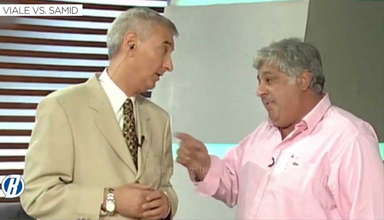 Uno de los protagonistas de la pelea más recordada de la TV argentina
