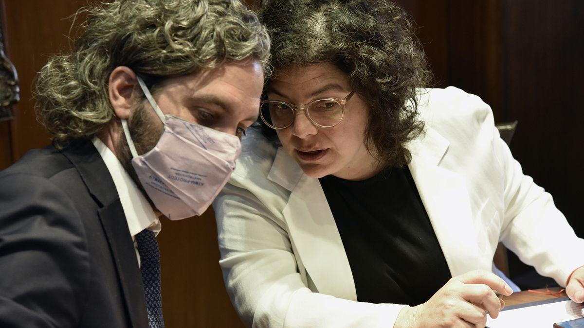 Santiago Cafiero y Carla Vizzotti encabezarán este lunes reunión con expertos para analizar la situación epidemiológica en la Argentina por la segunda ola.