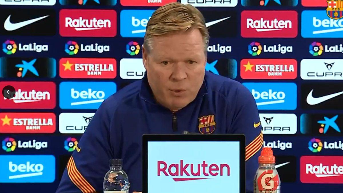 Koeman implora que el Atlético de Madrid pierda puntos