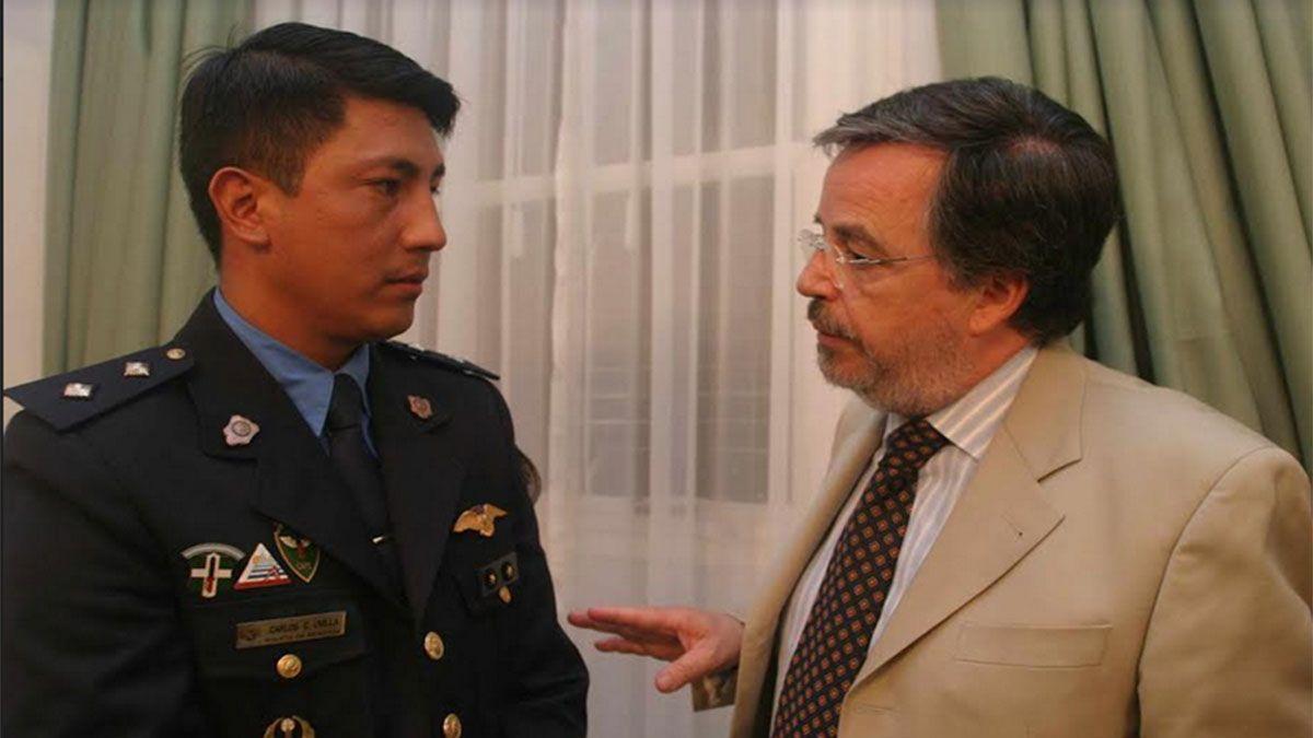 Camilo Uvilla, el jefe de custodios de tres gobernadores que lucha contra el Covid