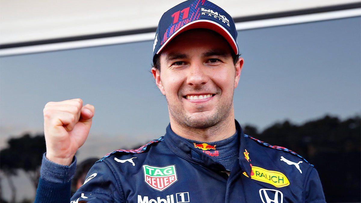 Fórmula 1: Checo Pérez festejó en Azerbaiyán en un sorprendente final