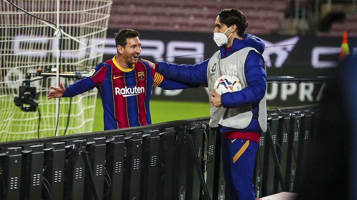 Barcelona le hizo cinco a Getafe y Messi marcó un doblete