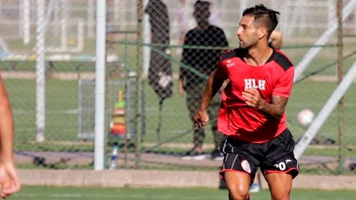 Jonathan Mazzola volverá a vestir la camiseta del Globo. (Gentileza Prensa Huracán Las Heras).