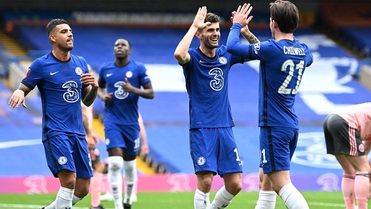Chelsea sigue de racha y se clasificó a las semifinales de la Copa FA