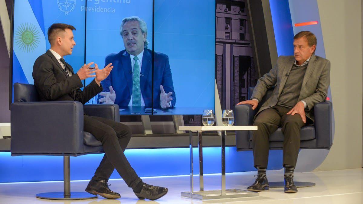 Julián Imazio le preguntó a Rodolfo Suarez por la relación con Alberto Fernández.