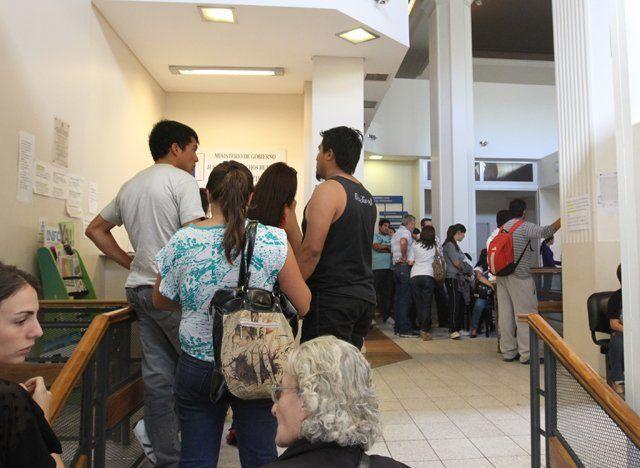Habrá cese de actividades por asambleas en el Registro Civil