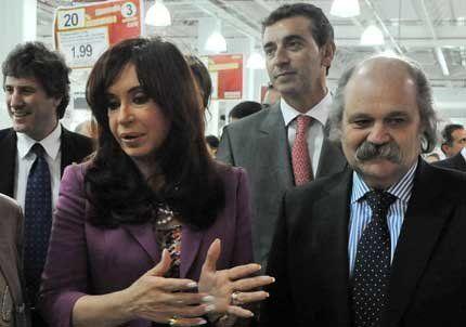 Cristina aseguró que el ex presidente Kirchner está muy bien