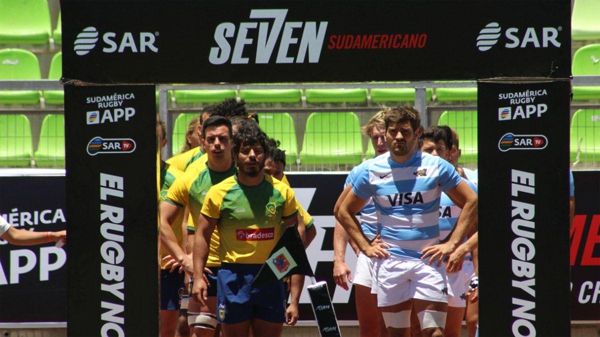 Los Pumas 7, firmes en el Seven Sudamericano