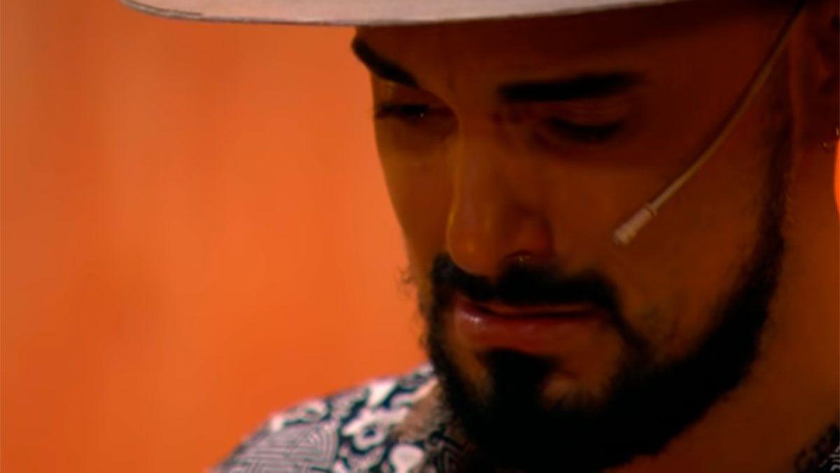 Abel Pintos lloró al recordar a una amiga de la infancia. No la vi nunca más, dijo el cantante.