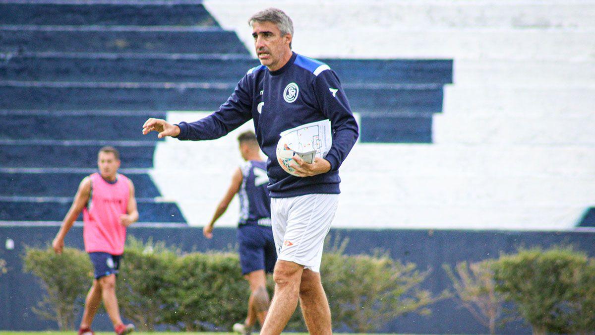 Gabriel Gómez hará un cambio para visitar a Almagro. (Fotos gentileza Prensa CSIR).