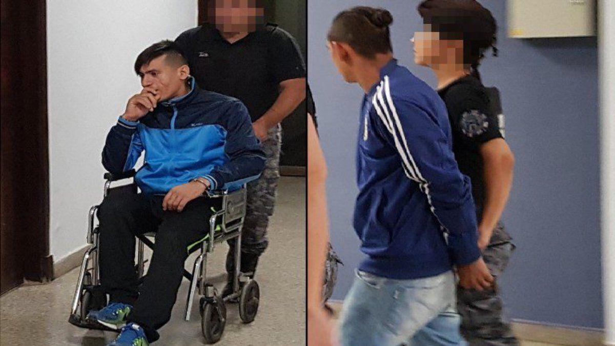 Cristian Reina y Héctor González, los sospechosos del crimen en Maipú.