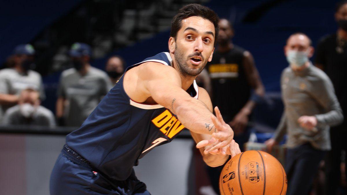 Campazzo empezó a mostrar su mejor nivel en la NBA.