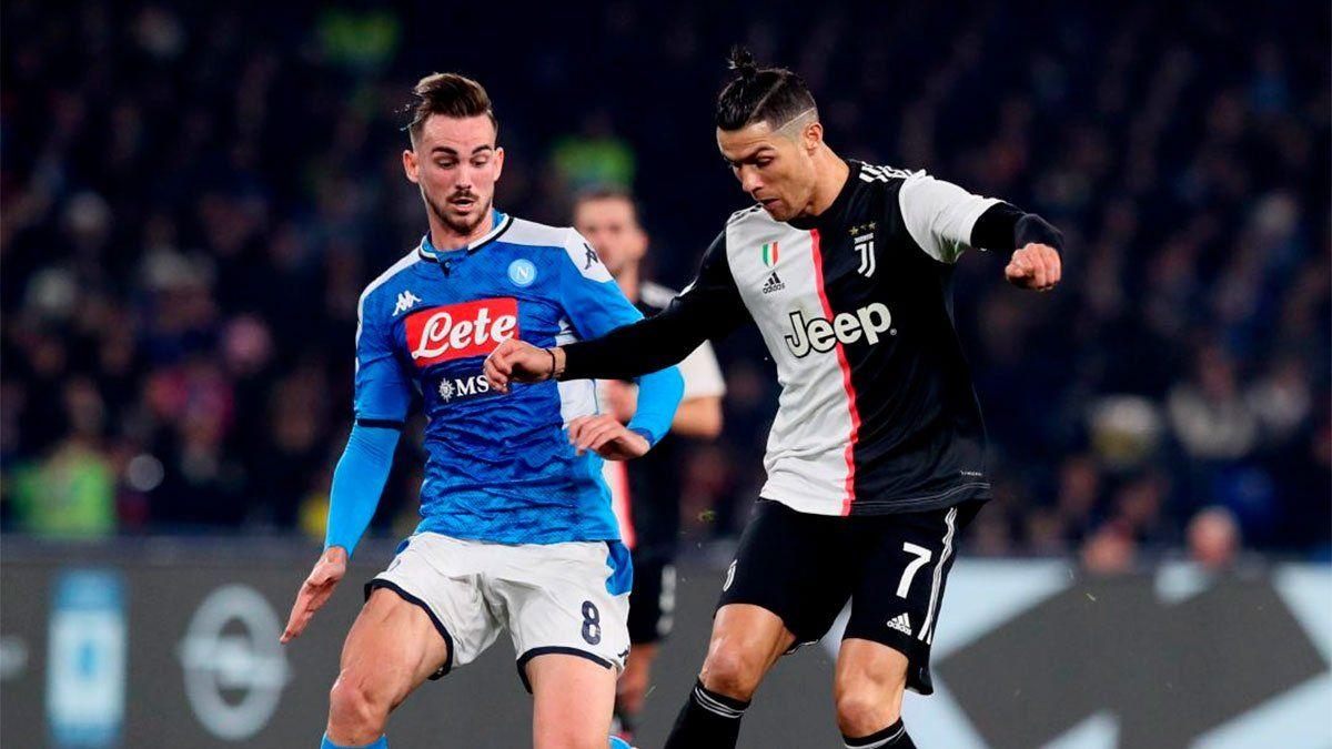 Juventus vs. Napoli, por la Supercopa de Italia: hora y TV