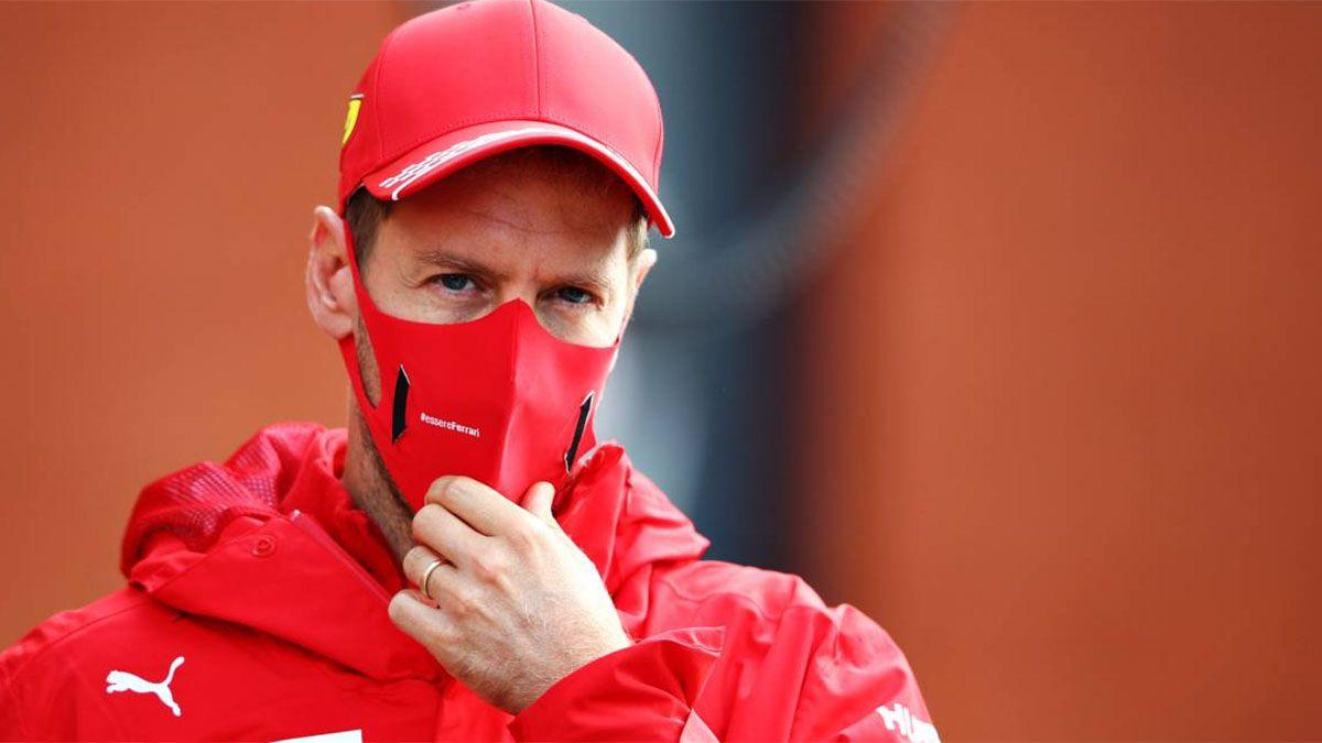 Sebastian Vettel se quedó con un auto icónico