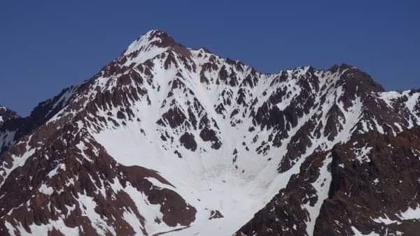 El cerro ahora llamado Ulises Vitale en todo su esplendor.