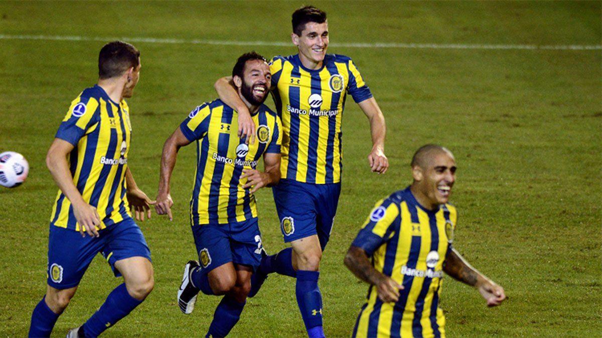 Central venció a San Lorenzo con un gol de Gamba
