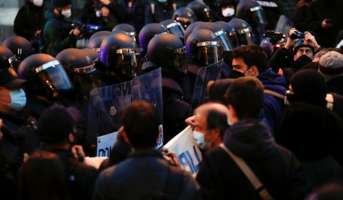 Nuevas protestas por la detención del rapero Pablo Hásel