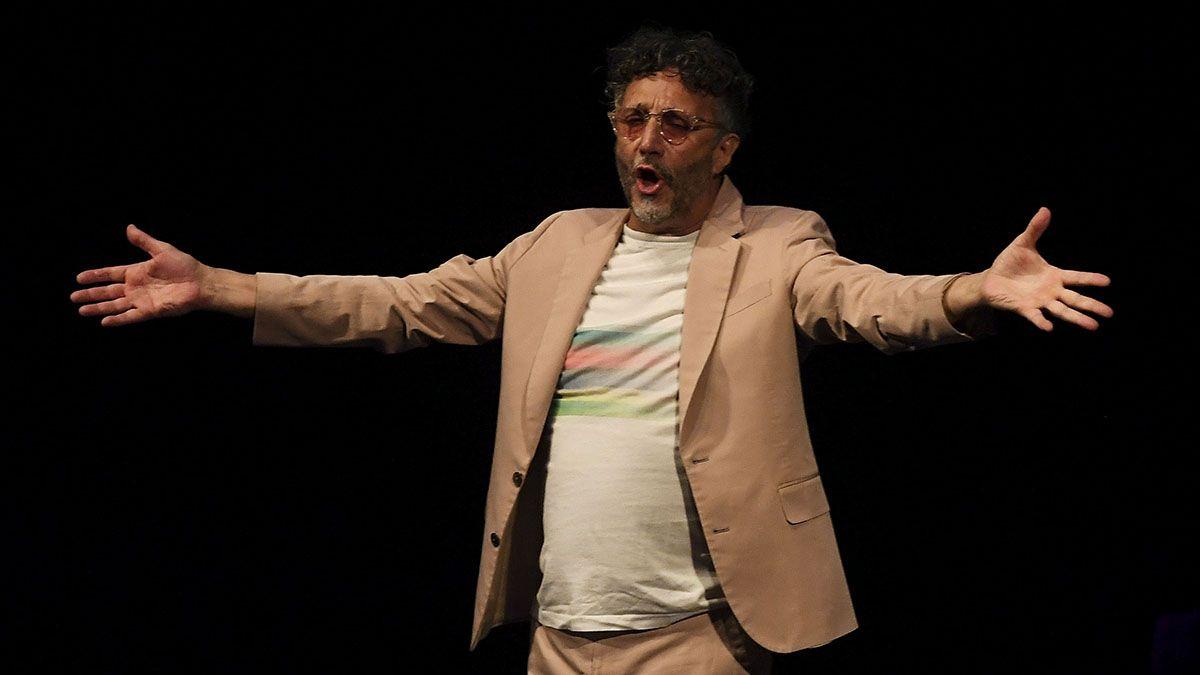 Fito Páez aprovecha la pandemia para grabar tres discos.