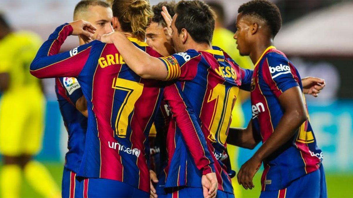 Barcelona vs. Getafe: hora, TV y probables formaciones