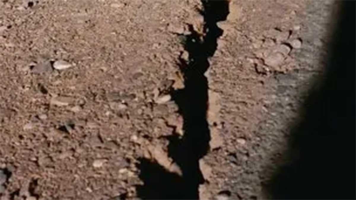 Fotos y videos de los destrozos: en San Juan se abrió la tierra por el terremoto