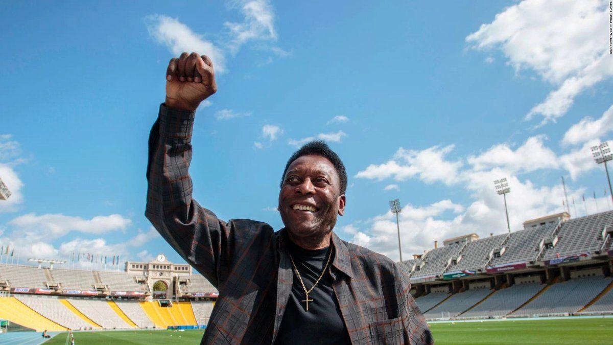 O Rei Pelé celebra hoy sus 80 años.