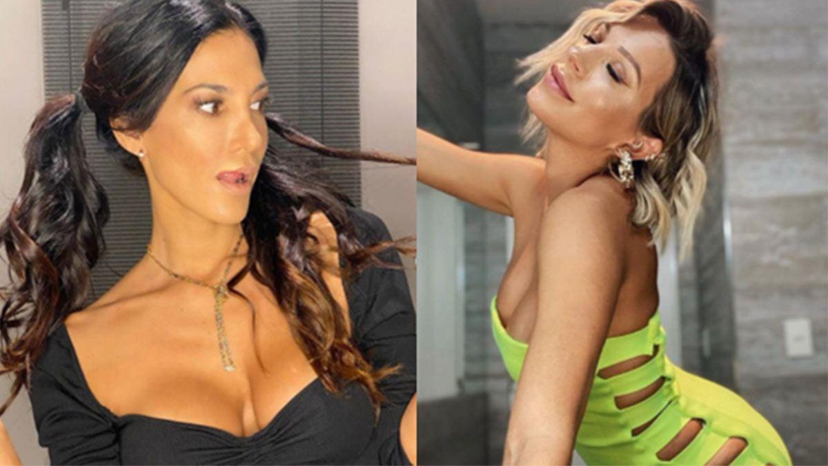 Silvina Escudero publicó una foto dándose un beso en la boca con Noelia Marzol.