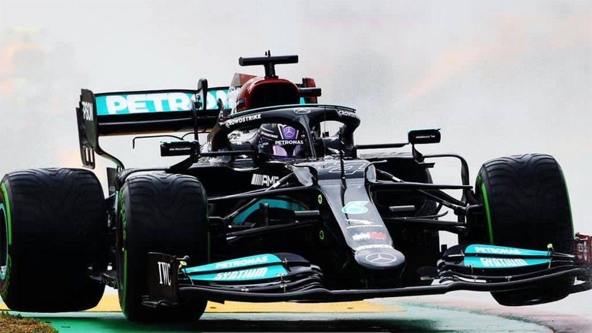 Hamilton tuvo un gesto que lo define como un gran campeón