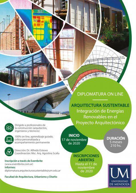 Diplomatura en Arquitectura Sustentable