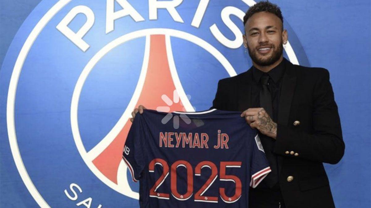 Neymar le dio una alegría al PSG y postergó al Barcelona