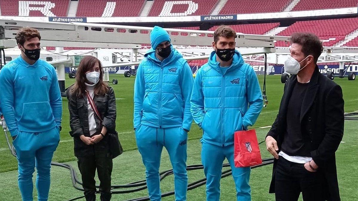 Qué pasó en el encuentro entre Simeone y los Pumas 7s