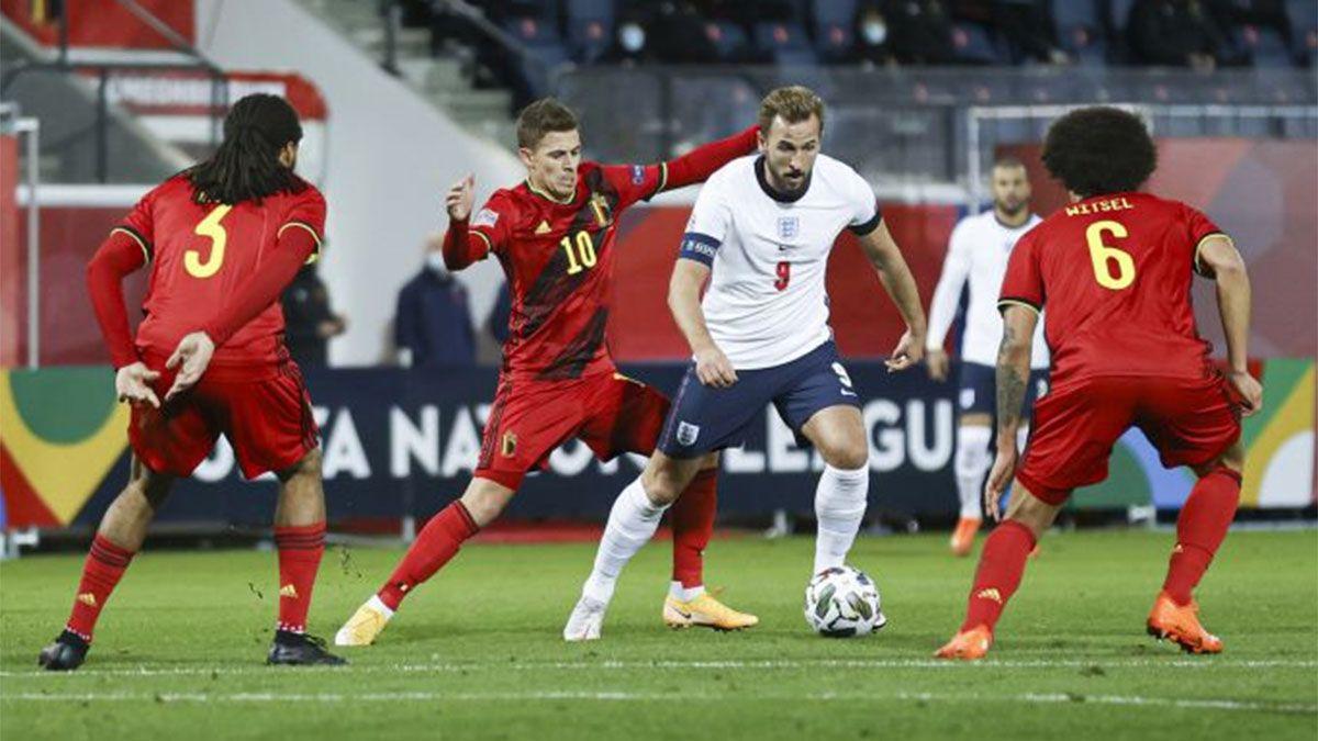Bélgica venció a Inglaterra y dio un gran paso hacia la clasificación.