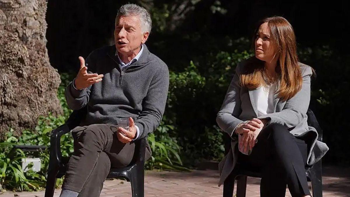 Mauricio Macri se sumó a la campaña de Juntos de cara a las elecciones 2021 y acompañó en una actividad a María Eugenia Vidal.