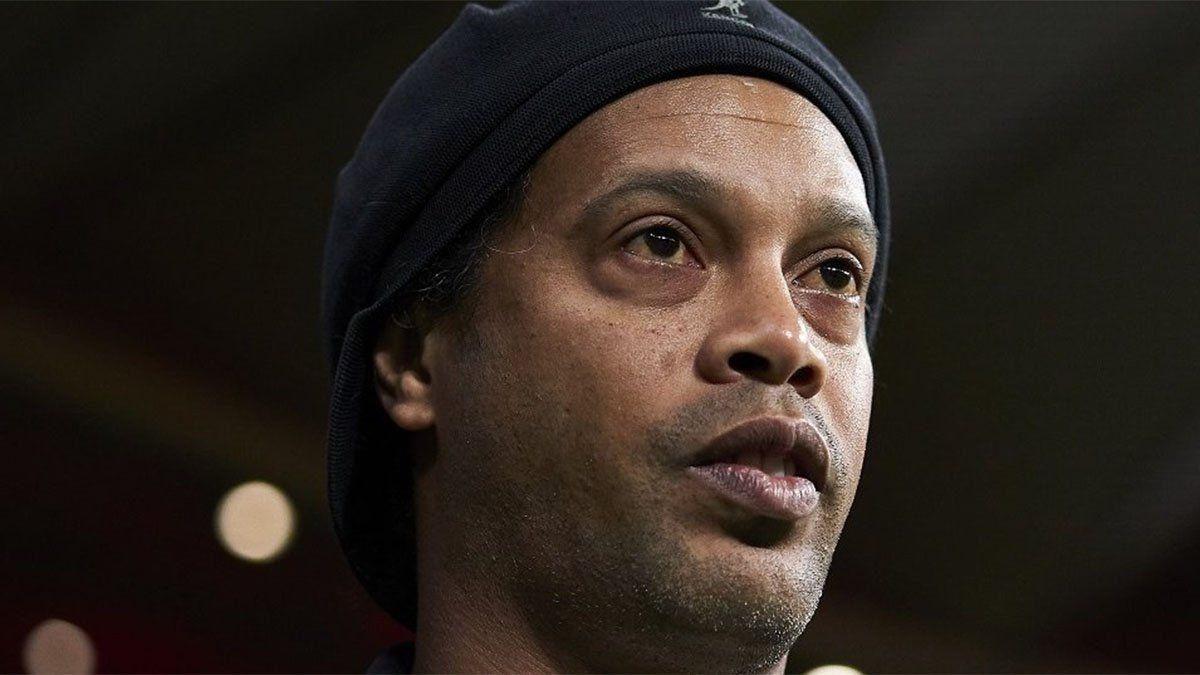 Ronaldinho confirmó que se contagió de coronavirus