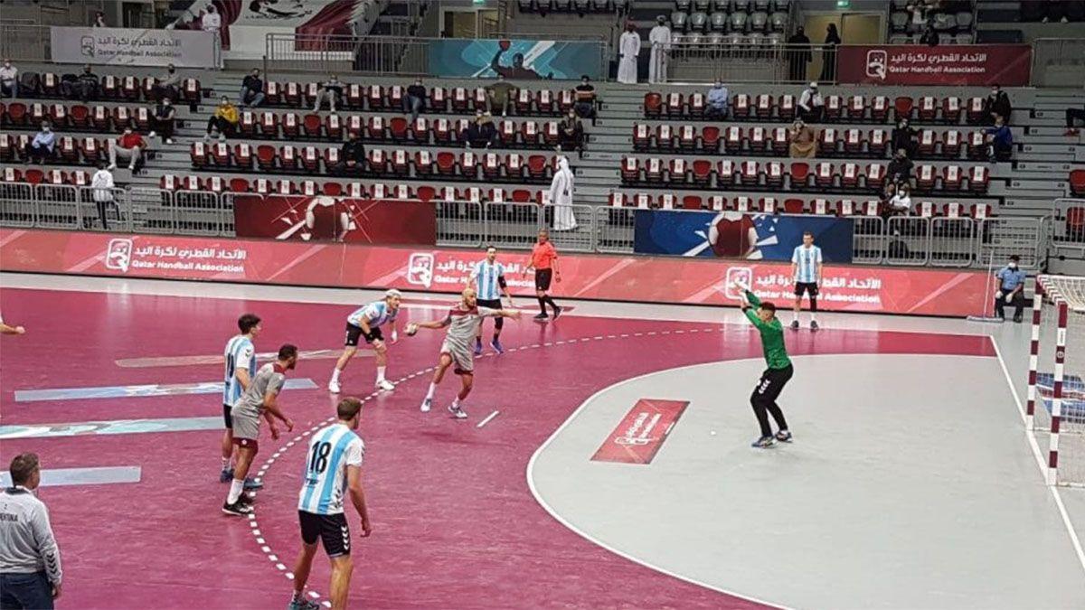 El seleccionado argentino de handball perdió un amistoso