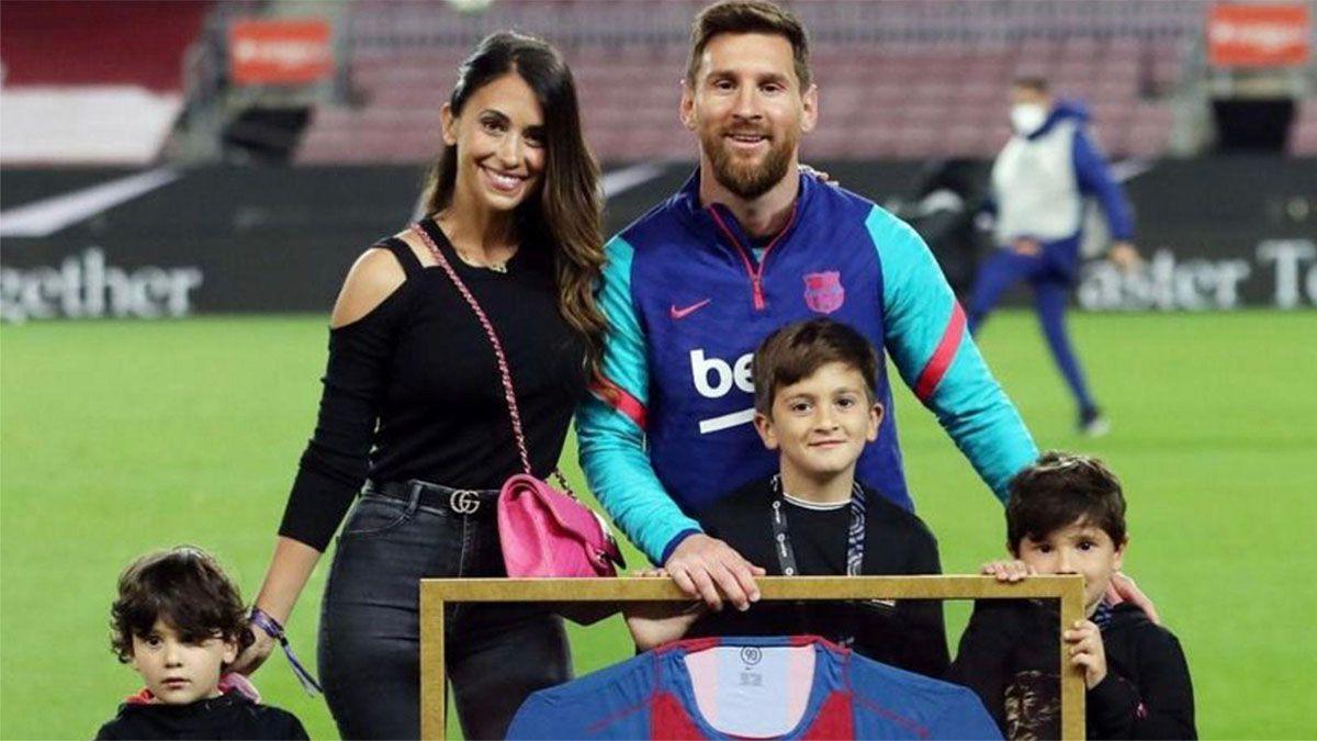 Messi llegó a los 200 millones de seguidores en Instagram
